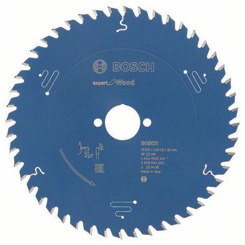 Bosch - Pilový kotouč Expert for Wood 200 x 30 x 2,8 mm, 48