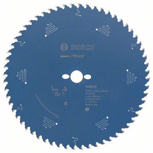 Bosch - Pilový kotouč Expert for Wood 355 x 30 x 3,0 mm, 60