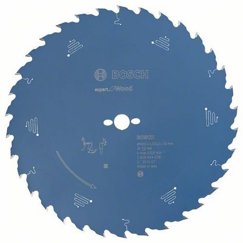 Bosch - Pilový kotouč Expert for Wood 450 x 30 x 4,5 mm, 34