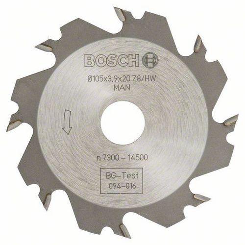 Bosch - Kotoučová fréza 8, 20 mm, 4 mm