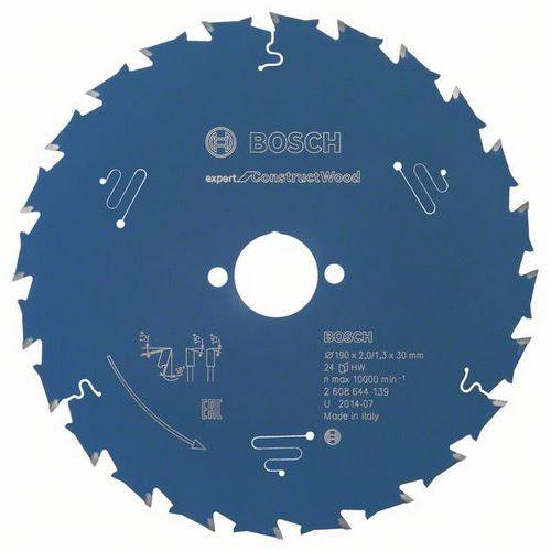Bosch - Pilový kotouč Expert for Construct Wood 190 x 30 x 2,0 mm, 24