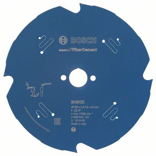 Bosch - Pilový kotouč Expert for Fiber Cement 165 x 20 x 2,2 mm, 4