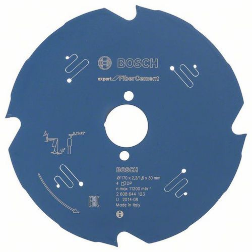 Bosch - Pilový kotouč Expert for Fiber Cement 170 x 30 x 2,2 mm, 4