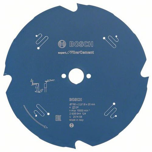 Bosch - Pilový kotouč Expert for Fiber Cement 190 x 20 x 2,2 mm, 4