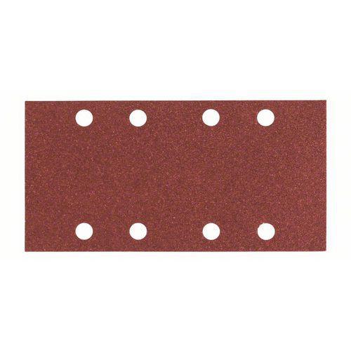Bosch - Brusný papír C430, 93 x 186 mm, 4x60; 4x120; 2x180, 10ks x 5 BAL