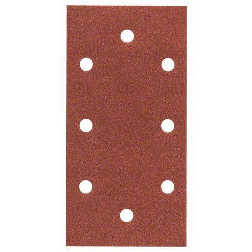 Bosch - Brusný papír C430, 93 x 186 mm, 2x40; 3x80; 3x120; 2x180, 10ks x 5 BAL