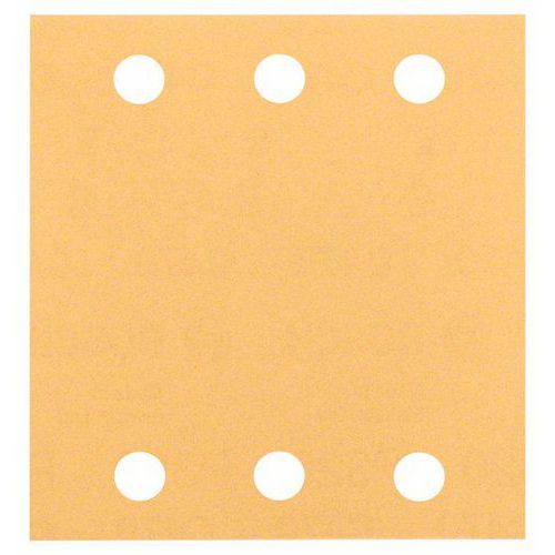 Bosch - Brusný papír C470, 115 x 107 mm, 40, 10ks x 5 BAL