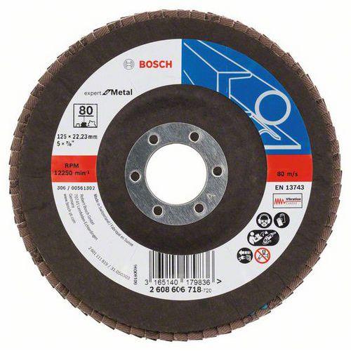 Bosch - Lamelový brusný kotouč X551, Expert for Metal 125 mm, G8