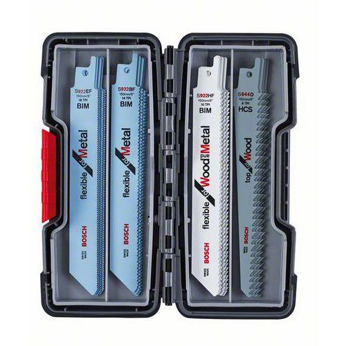 Bosch - 20dílná sada pilových plátků do pil ocasek Wood and Meta
