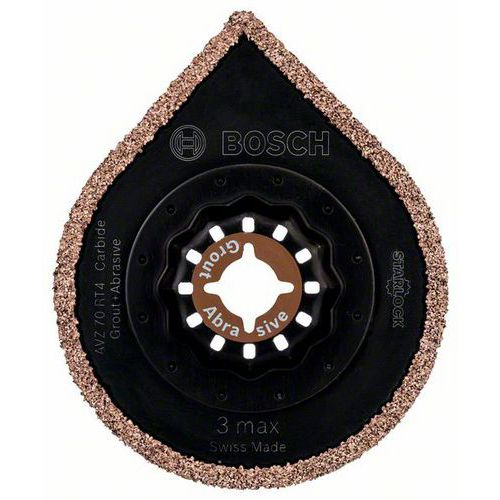 Bosch - Karbidový odstraňovač malty s tvrdokovovými zrny RIFF AVZ 70 RT4 70 mm