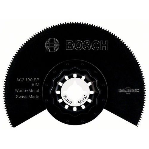 Bosch - BIM segmentový pilový kotouč ACZ 100 BB Wood and Metal 100 mm