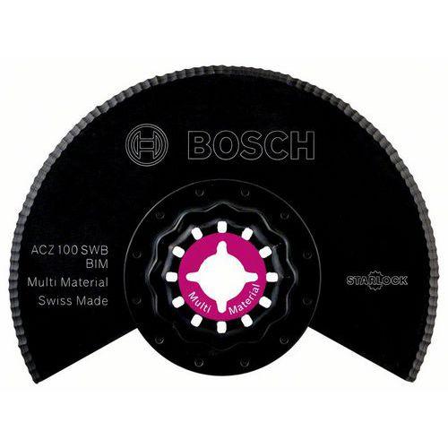 Bosch - BIM Segmentový pilový kotouč se zvlněným výbrusem ACZ 100 SWB 100 mm