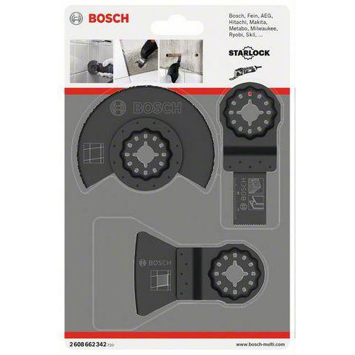 Bosch - 3dílná sada na dlaždice, 10 BAL
