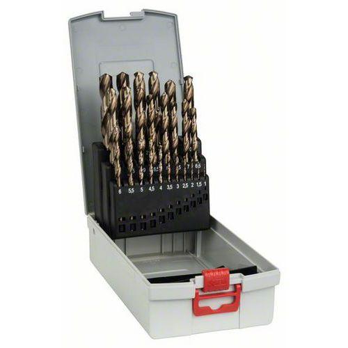 Bosch - 25dílná sada vrtáků do kovu ProBox HSS-Co, DIN 338 (lego