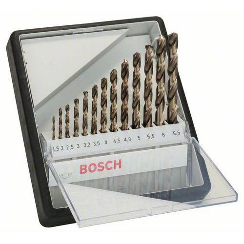 Bosch - 13dílná sada vrtáků do kovu Robust Line HSS-Co, 1,5; 2;
