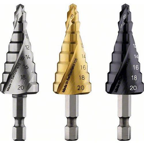 Bosch - Stupňovitý vrták HSS-TiN 4 - 20 mm, 70,5 mm