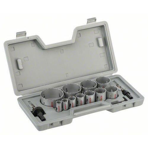 Bosch - 14dílná sada děrovek HSS BIM 19; 22; 25; 29; 35; 38; 44;