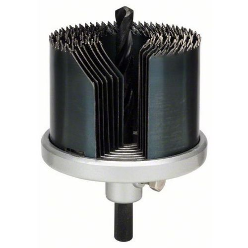 Bosch - 7dílná souprava ozubených věnců 25; 32; 38; 44; 51; 57; 63 mm, prac. délka 40 mm