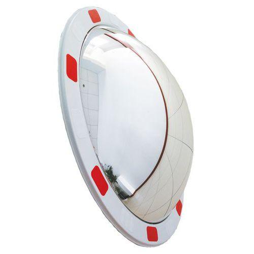 Dopravní kulaté zrcadlo Manutan, průměr 45 cm