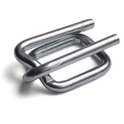 Ocelové pozinkované spony pro páskovače, drátové, 12 mm