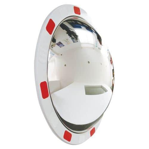 Dopravní kulaté zrcadlo Manutan, průměr 60 cm