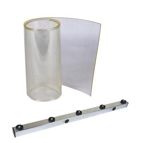 Mrazírenská lamelová clona, šířka 30 cm, 1 m2, krytí 50 %