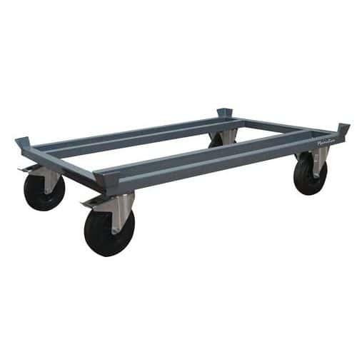 Podvozek pro palety Manutan, 120 x 80 cm, do 500 kg