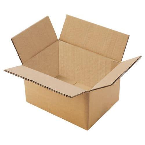 Kartonové krabice Manutan, 31,4 x 41,4 x 31,4 cm, 10 ks