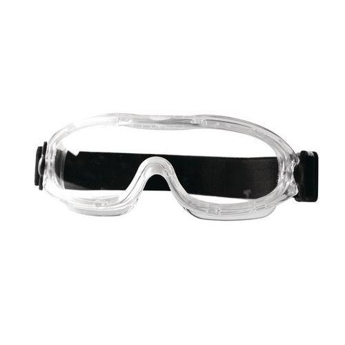 Nemlživé ochranné brýle Manutan s čirými skly