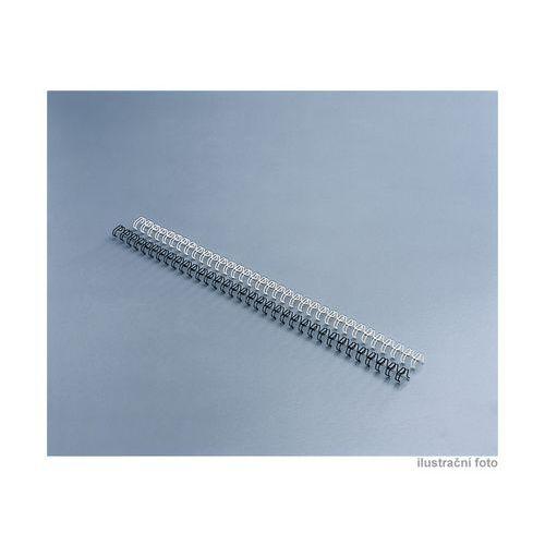 Drátěný hřbet GBC, 3:1, A4/100 ks, 10 mm, bílé
