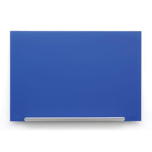 Skleněná tabule Diamond glass 126x71,1 cm, modrá