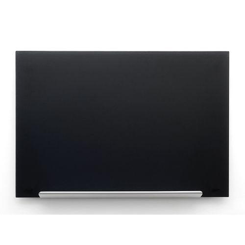 Skleněná tabule Diamond glass 67,7x38,1 cm, černá