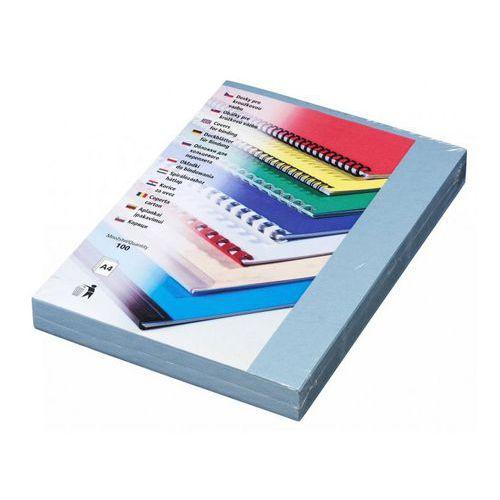 Karton DELTA A4/100 ks, světle modrá, 50 ks