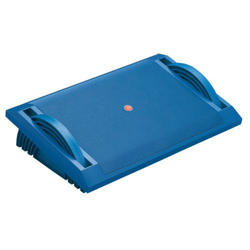 Plastová nožní opěrka Twinco, modrá