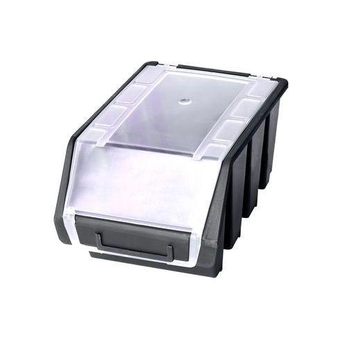 Patrol Plastový box na šroubky ERGOBOX 3 - intermediate černý s víkem