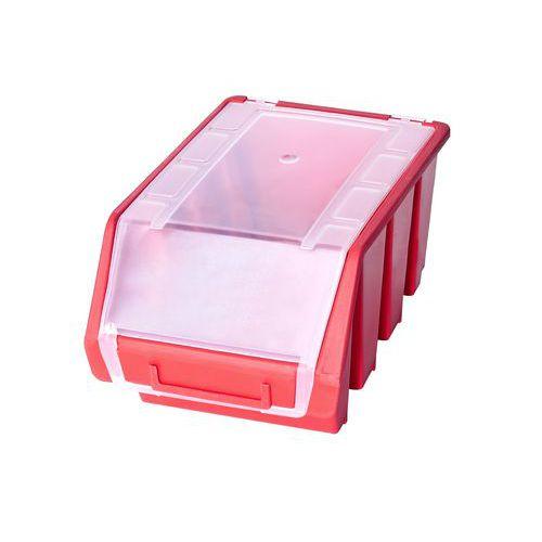 Plastový box Ergobox 3 Plus 12,6 x 17 x 24 cm, červený