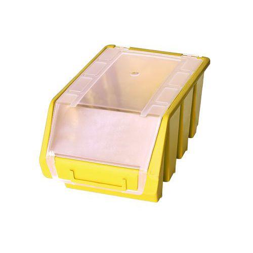 Plastový box Ergobox 3 Plus 12,6 x 17 x 24 cm, žlutý