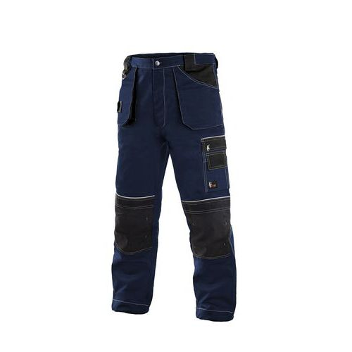 Kalhoty do pasu CXS ORION TEODOR, pánské, tmavě modré-černé, vel. 46