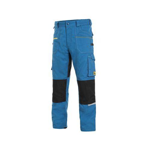 Kalhoty CXS STRETCH, pánské, středně modré-černé, vel. 62