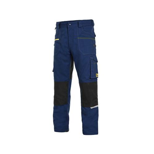 Kalhoty CXS STRETCH, pánské, tmavě modro-černé, vel. 46