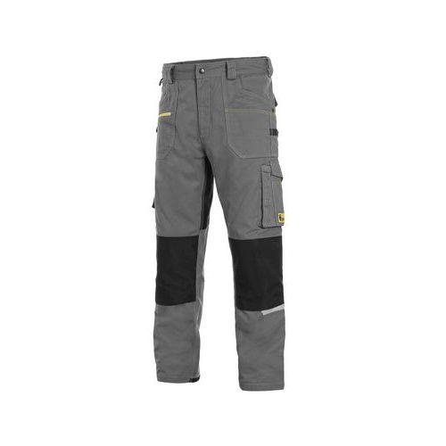 Kalhoty CXS STRETCH, pánské, šedo-černé, vel. 62