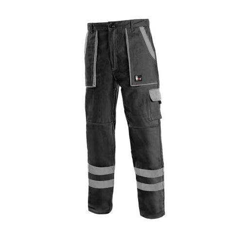 Kalhoty CXS LUXY BRIGHT, pánské, černo-šedé, vel. 62