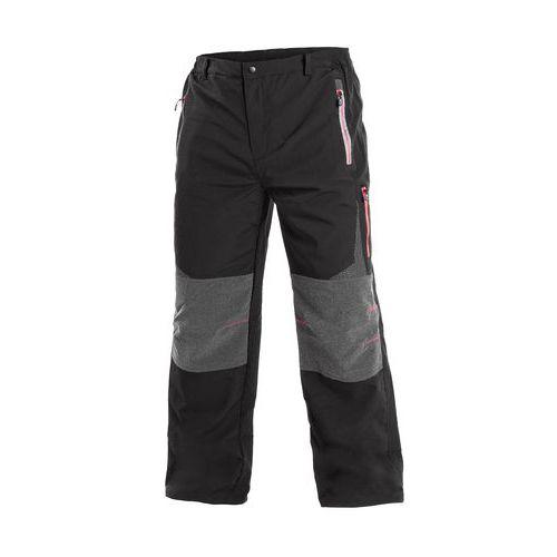 Kalhoty MONTREAL, pánské, černo-červená