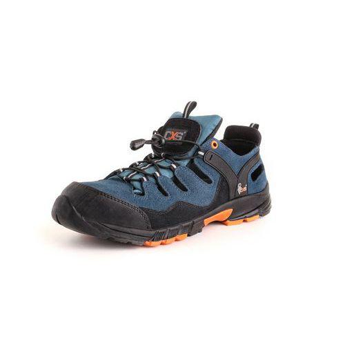 Obuv sandál CXS ISLAND CABRERA S1, ocel.šp., černo-modrá