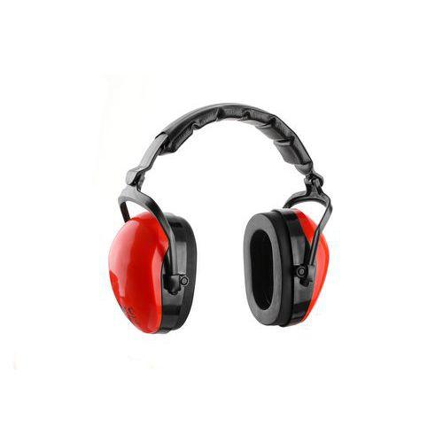 Mušlové chrániče sluchu EP109-56, červené