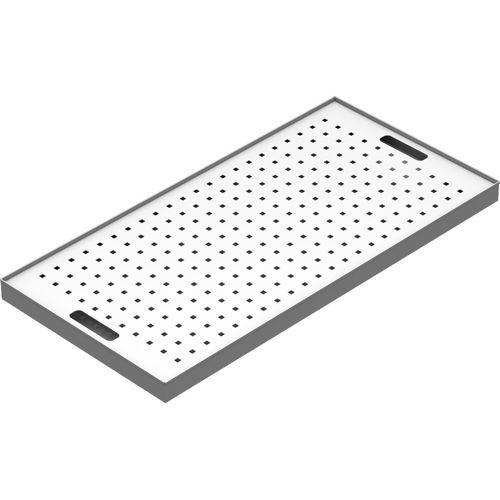 Přídavná police pro skřín na chemikálie, s roštem, 5 x 94 x 46,2 cm