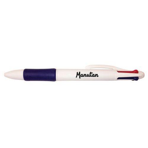 Čtyřbarevné kuličkové pero Manutan