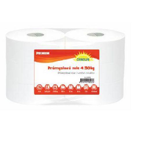 Průmyslové papírové utěrky Maxi White Cel 2vrstvé, 500 m, bílé,