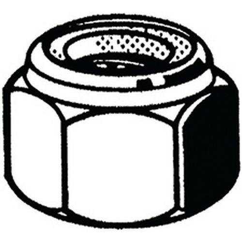 Samosvorná šestihranná matice s nekovovou vložkou, vysoká DIN 98