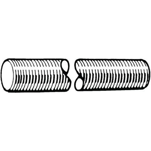 Závitová tyč, délka 1 m DIN 976-1A Ocel Pozinkované 4.8 M27